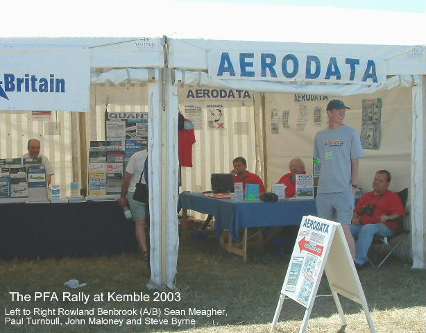 The stand at the PFA (2003)